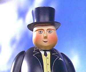 Image result for fat controller gif